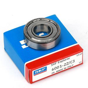 6001-2RS C3 SKF Steel Deep Grove Ball Bearings 12mm X 28mm X 8mm